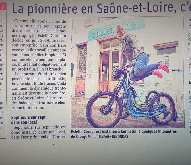 Article JSL Les Balades d'Estelle